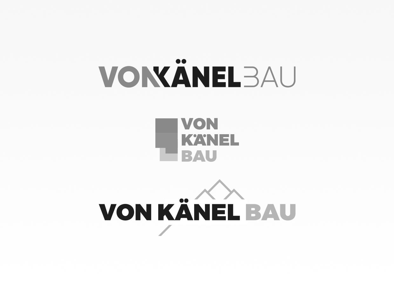 Logoentwicklung Von Känel Bau
