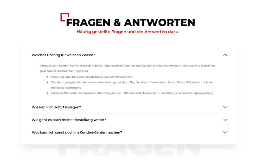 Hostfactory webdesign Innerseite 2