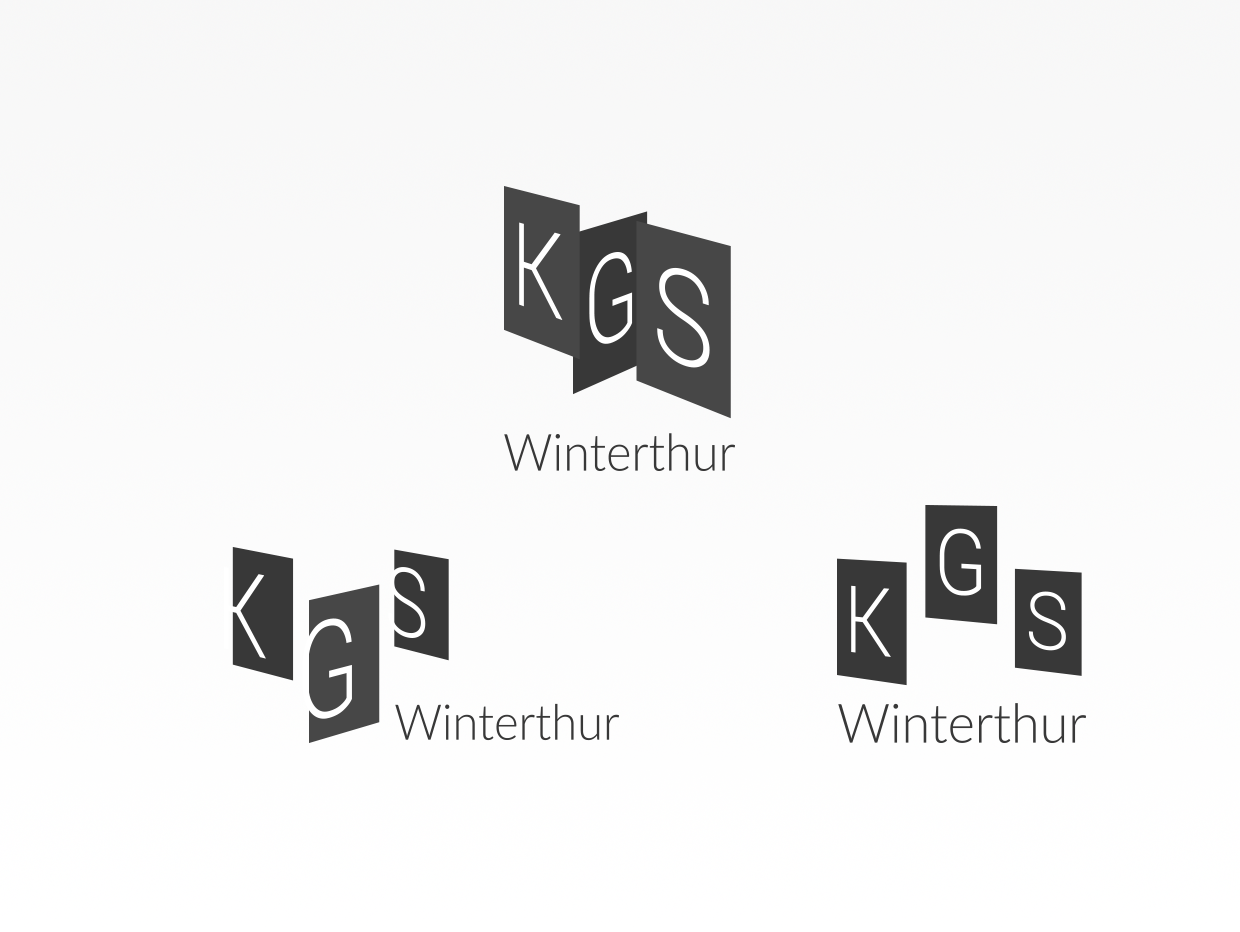 KGS Winterthur logo development