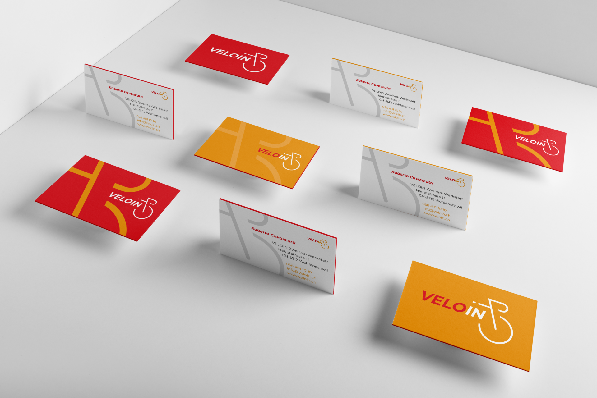 Business cards peloton