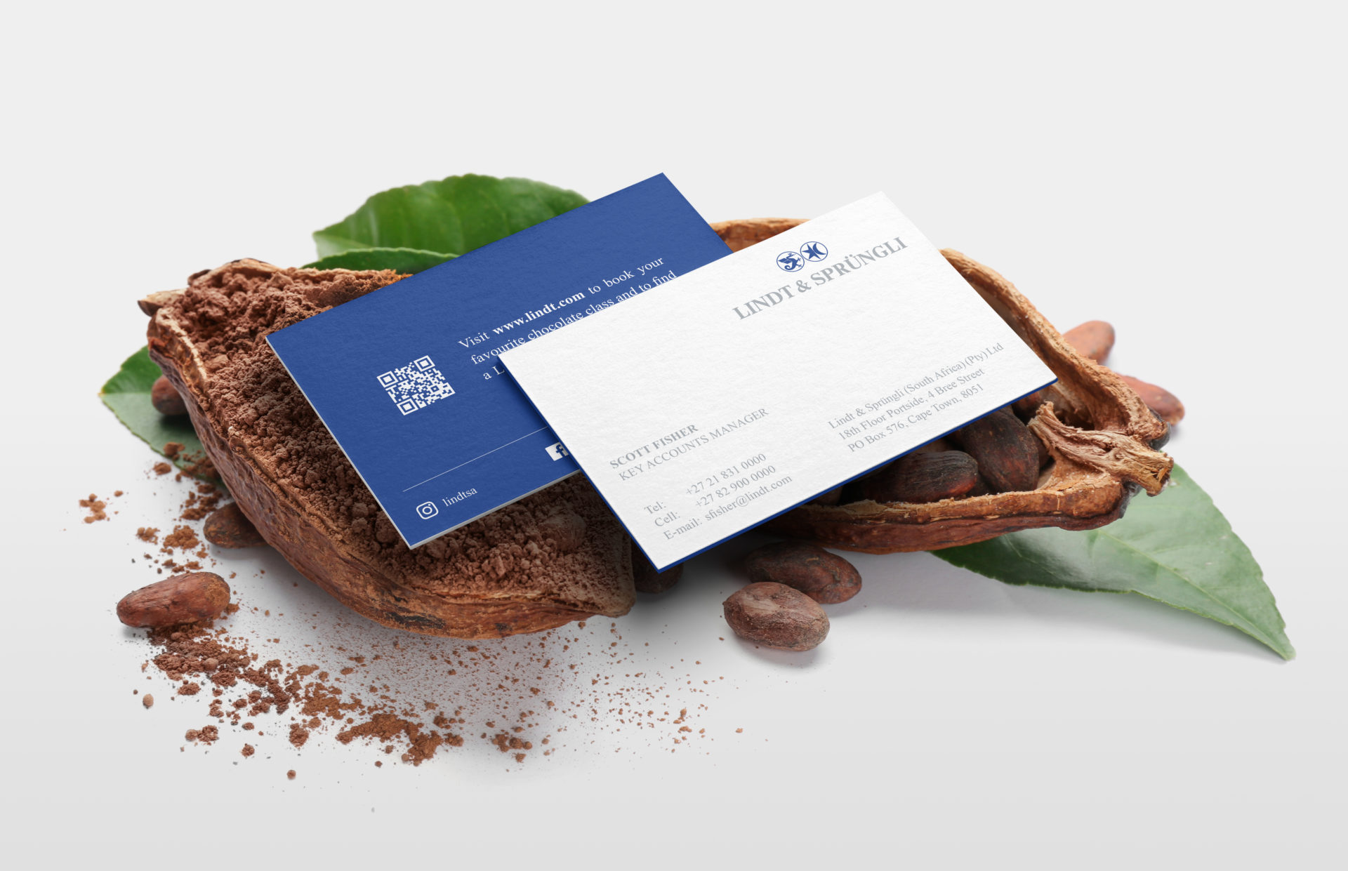 Lindt_Business Card_8chDesign