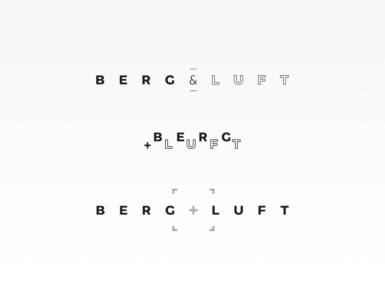 Logoentwicklung Berg+Luft_1D